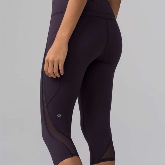 2ca137a9de lululemon athletica Pants - Lululemon Pace Perfect Crop- Boysenberry Size 2
